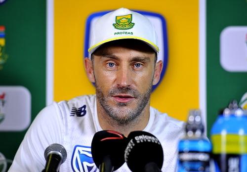 Faf du Plessis. (Photo by Ashley Vlotman/Gallo Images)