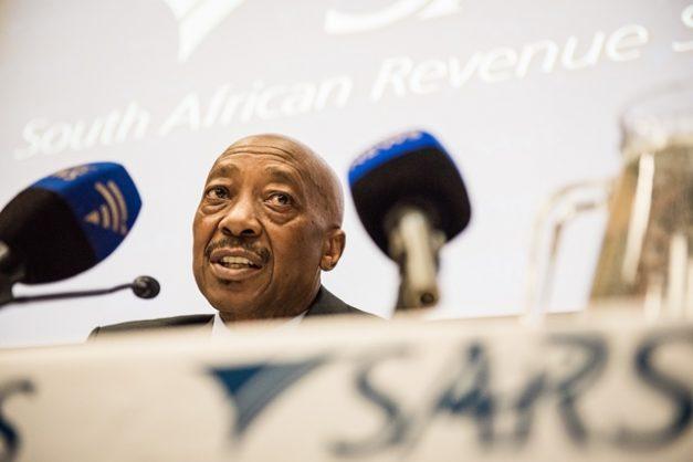 Suspended SARS commisioner Tom Moyane. Picture: Jacques Nelles