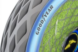 Goodyear goes clean and green with Oxygene concept tyre