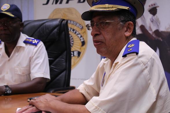 Metro police spokesperson, Chief Superintendent Wayne Minnaar.