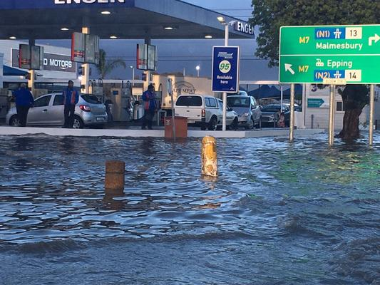 In pictures: Flooding in Cape Town