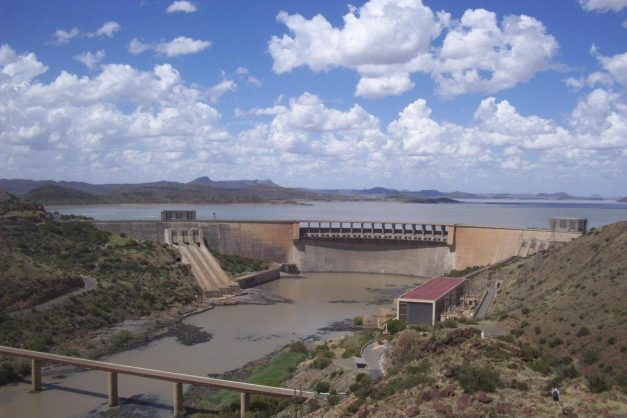 The Gariep Dam, which reportedly is ready to overflow. Picture: Wikipedia