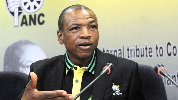 Former North West premier Supra Mahumapelo.