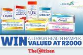 WIN A LEBRON HEALTH HAMPER!