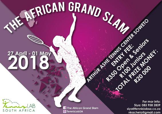 Arthur Ashe Tennis Centre in Soweto to host African Grand Slam