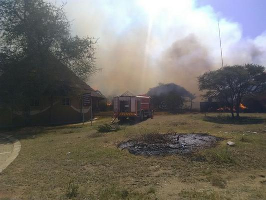 Limpopo police investigate after buildings burnt down