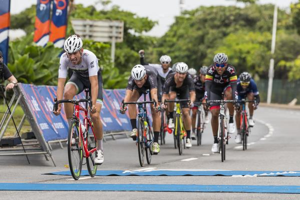 Basson wins Tour Durban cycle race title