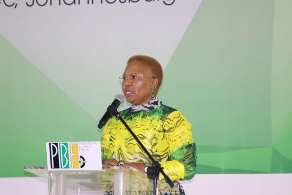 Small Business Development Minister Lindiwe Zulu. Picture: ANA