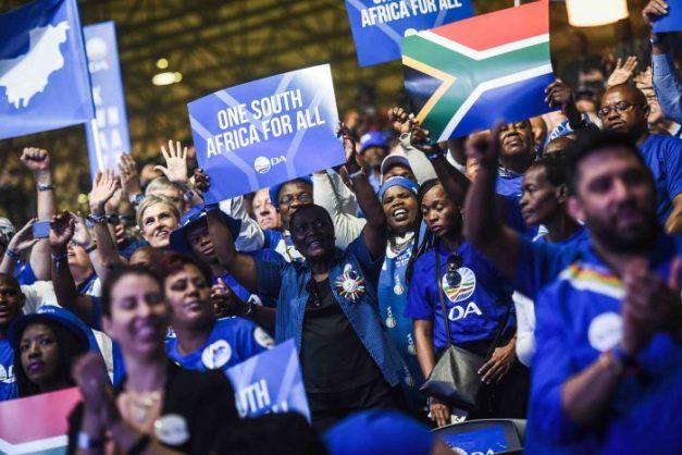 DA supporters. Picture: Jacques Nelles