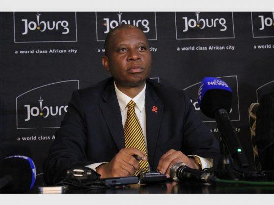City of Johannesburg executive mayor, Herman Mashaba.