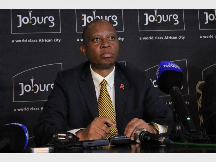 City of Johannesburg Executive Mayor, Herman Mashaba
