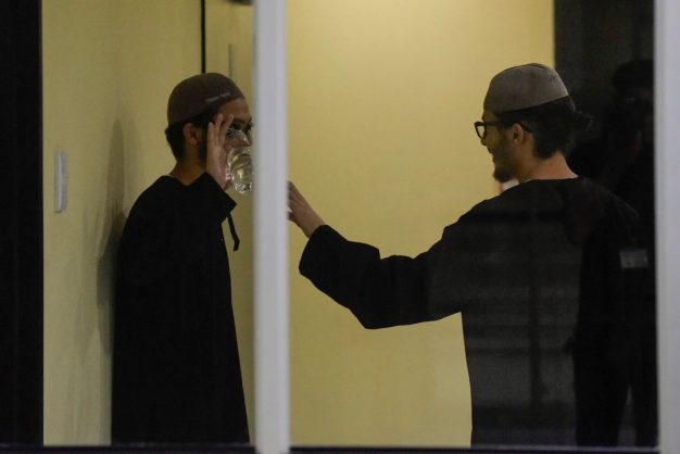 Brandon-Lee and Tony-Lee Thulsie arrive in the Johannesburg High Court on 16 April 2018. The twins are accused of terrorism related charges. Picture: Yeshiel Panchia