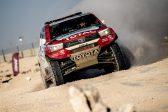 Victory for Toyota Gazoo racing SA on opening stage of Qatar Cross-Country Rally