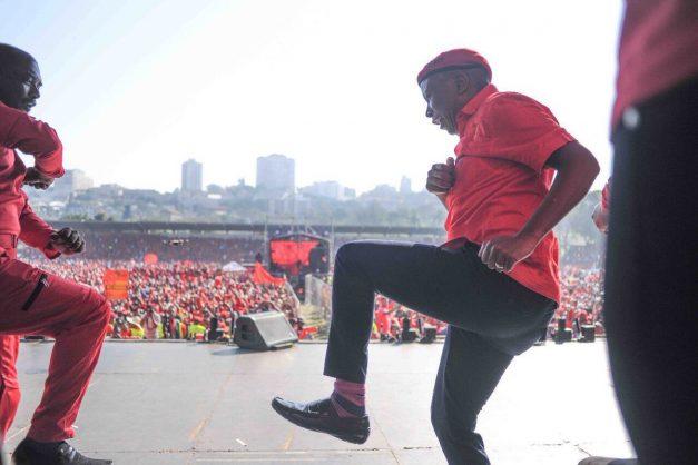 Julius Malema dancing. Image: Twitter/Julius Malema
