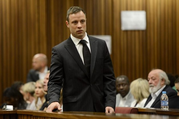 Convicted murderer and former Paralympic athlete Oscar Pistorius.