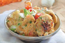 Recipe: Prawn and corn fritters