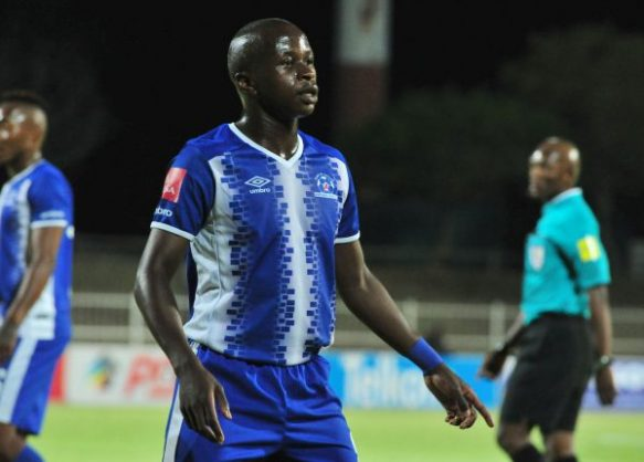 Siphesihle Ndlovu of Maritzburg United (Photo by Philip Maeta/Gallo Images)