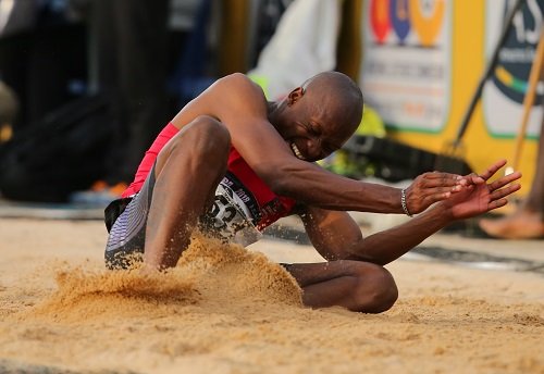 Luvo Manyonga. (Photo by Roger Sedres/Gallo Images)