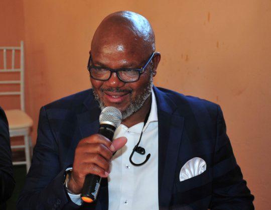 Khurishi Mphahlele Baroka FC Chairman  (Photo by Philip Maeta/Gallo Images)