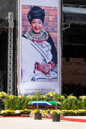 Winnie Madikizela-Mandela's funeral. Picture: Yeshiel Panchia