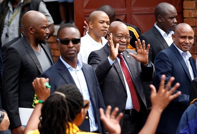 Zuma court case adjourned to 8 June