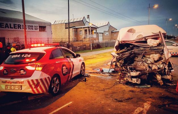 4 people burn to death in fiery collision in Bronkhorstspruit