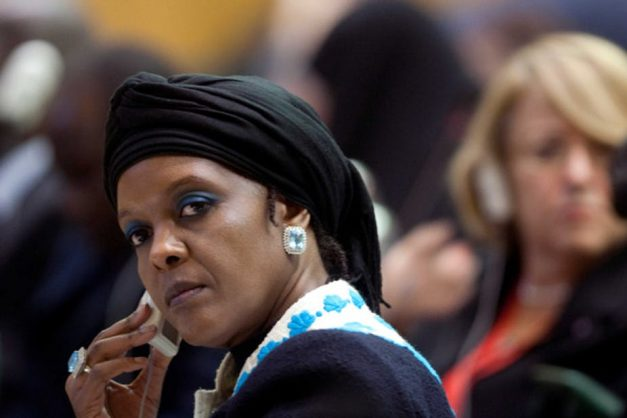 Zimbabwe's former first lady Grace Mugabe is being investigated. Trong Khiem Nguyen/Flickr