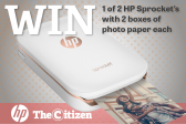 WIN AN HP SPROCKET WITH 2 BOXES OF PHOTO PAPER