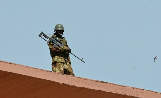 """Fourteen suspected jihadists were killed on Friday during an """"alleged escape attempt"""", a day after they were taken in for questioning, the Malian army said in a statement"""