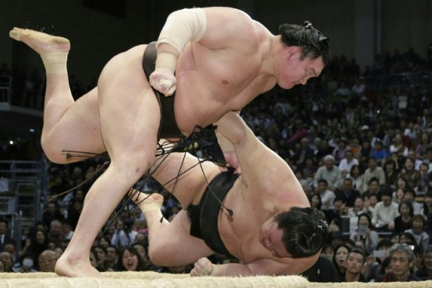 Sumo dates back some 2,000 years and retains many Shinto religious overtones