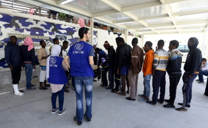 Number of migrants detained in Libya down sharply: government