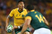 Under-fire Wallabies star Folau says 'the persecuted are righteous'