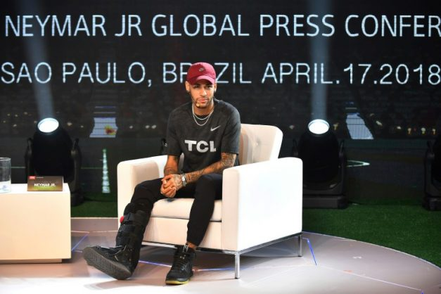 Neymar recovery on track, will be back for World Cup: doctor