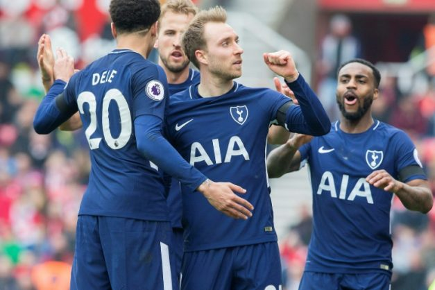 Christian Eriksen was the hero for Tottenham at Stoke City with a brace