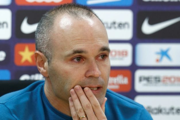 A tearful Andres Iniesta has announced he is leaving Barcelona after 22 years associated with the club