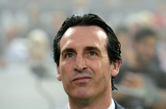 Unai Emery of Arsenal