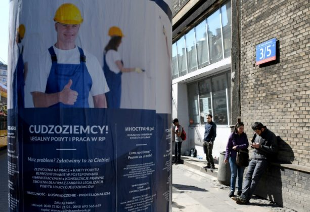 Poland increasingly needs foreign workers to fill jobs left open by locals leaving to work in Western Europe