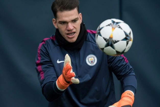 Brazilian goalkeeper Ederson has been a mainstay of Manchester City's Premier League title challenge