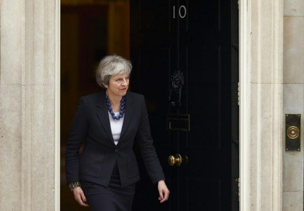 UK Prime Minister Theresa May.
