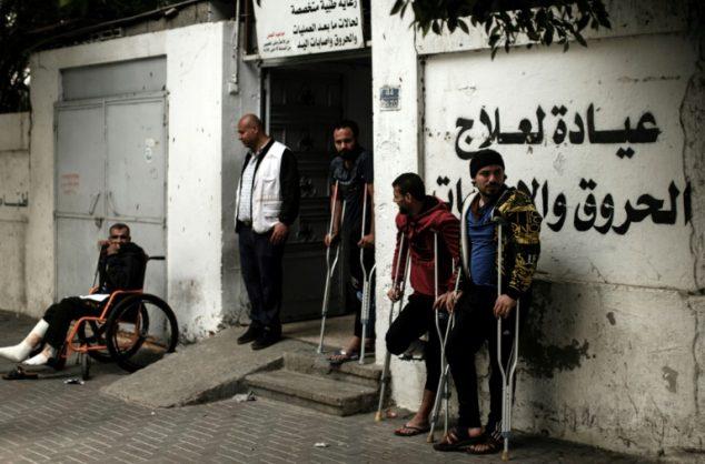 Israeli gunfire in spotlight after hundreds wounded in Gaza