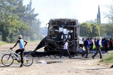 SANDF intervenes at North West health facilities amid violent protests