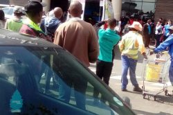 Armed robbery at East Rand Mall