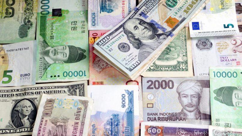 Global currencies.
