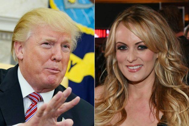 Stormy Daniels says President Trump's junk resembles