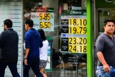 Mexican peso tumbles to 14-month low