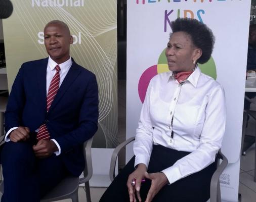 Monako Dibetle and Neo Rakwena. Picture: ANA