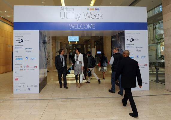 Delegates at the African Utility Week taking place at the Cape Town Convention Centre. Picture: ANA