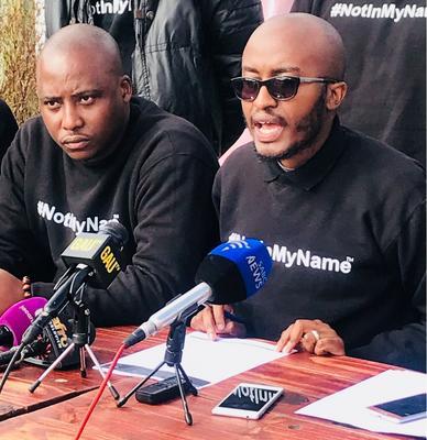 Siyabonga Jentile (right) and Themba Masango. Picture: ANA