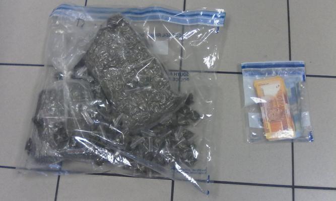 Alleged drug dealer arrested after cops notice 'funny smell' coming from room