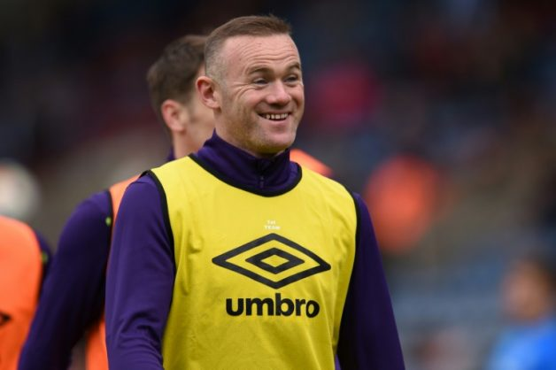Wayne Rooney rejoined boyhood club Everton from Manchester United in 2017. AFP/File/Oli SCARFF
